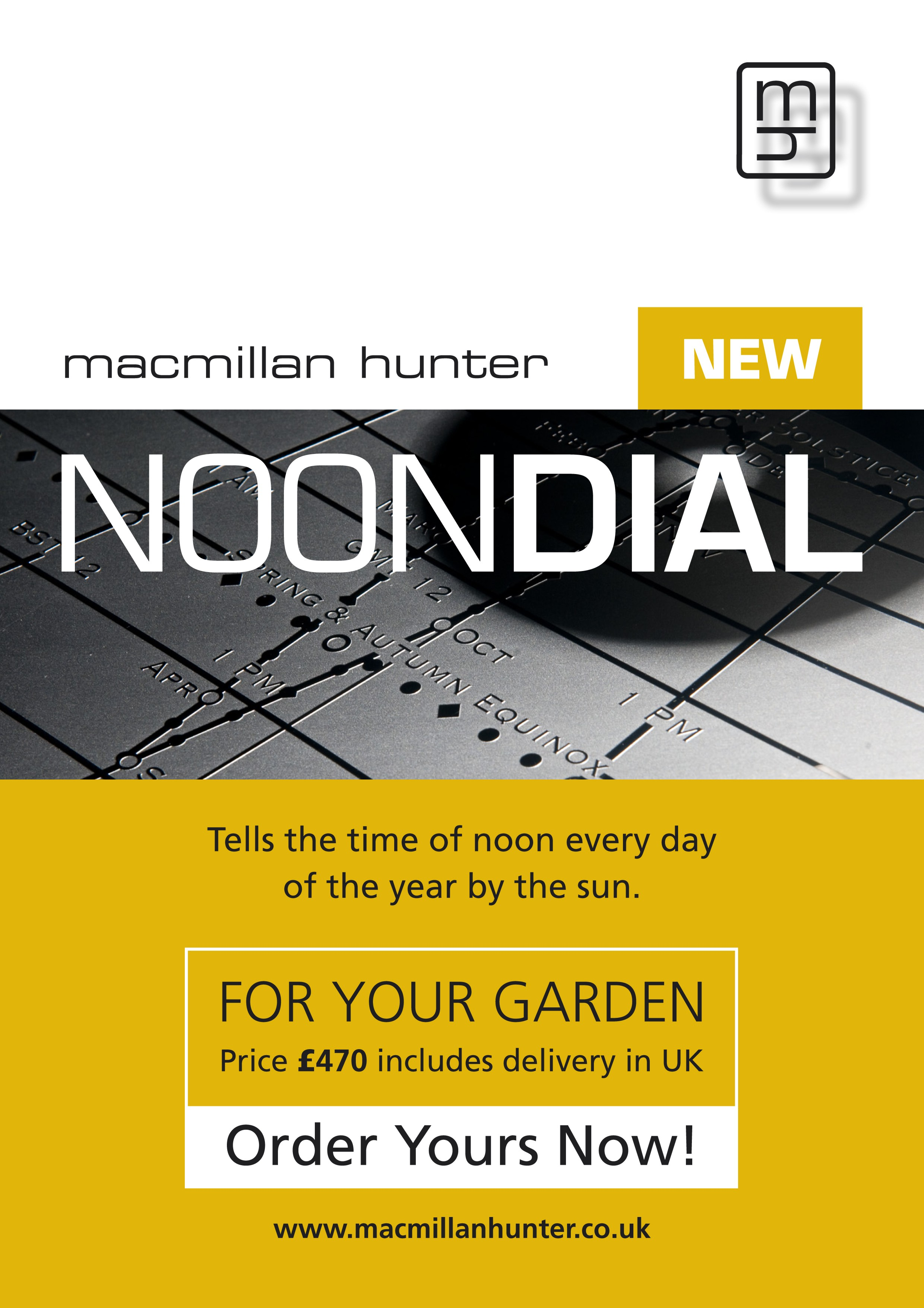 Noondial poster