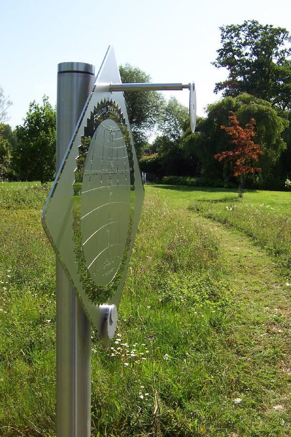 Sundial at Dipley Mill