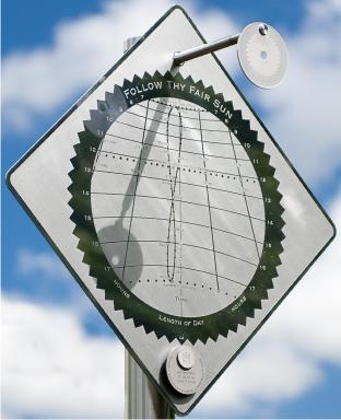 Sundial at ArtParkS International