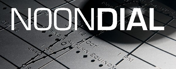 A modern noondial