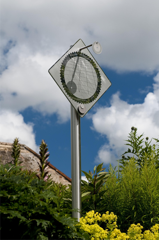 Sundial at Priorwood Garden, Melrose