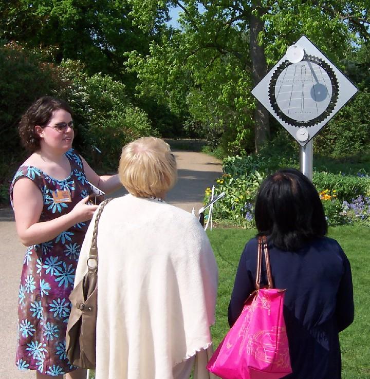 Sundial at RHS Wisley Garden