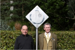 New sundial at Inverewe Garden