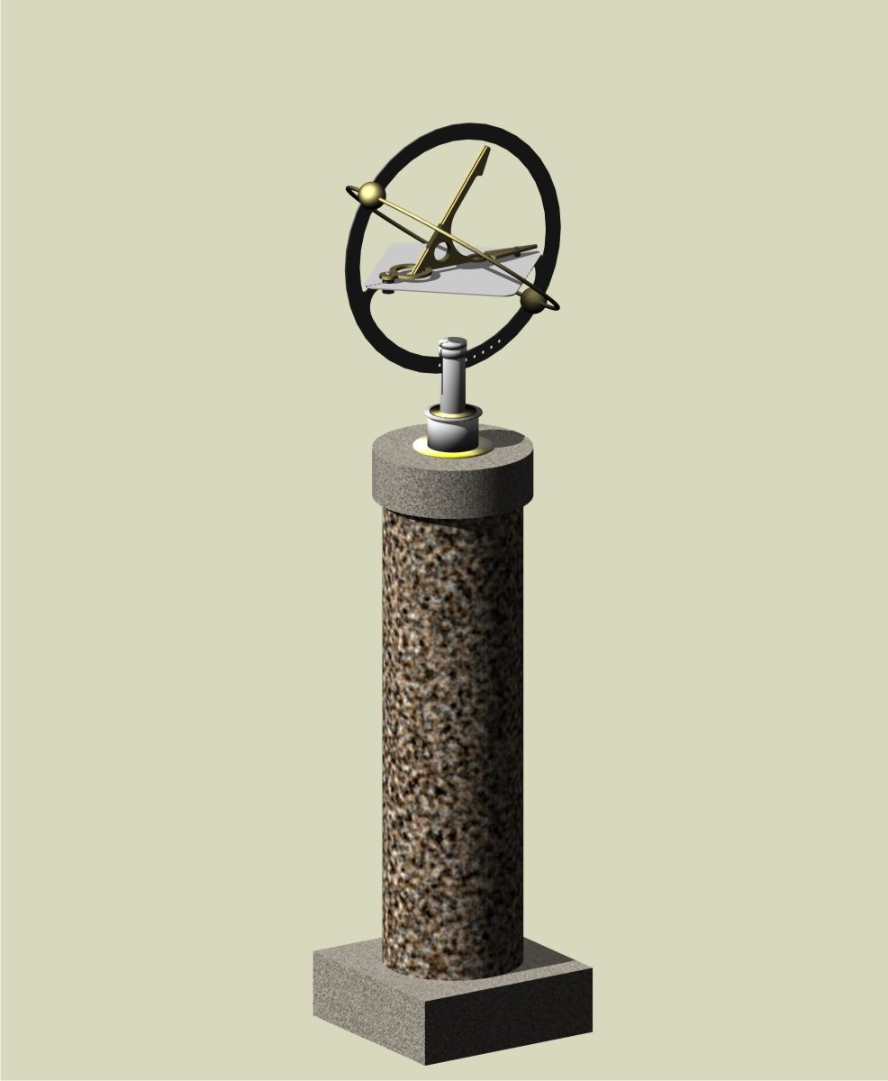 The PILLAR pedestal with Orbdial