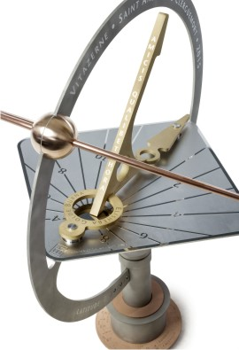 Orbdial sundial for a house in France