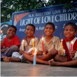 Lighting Candles in India