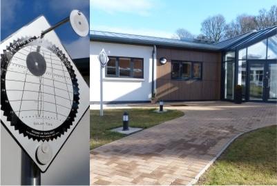 Solar Time precision sundial at Kilgraston school science centre