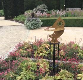 Dihelion sundial sculpture at the Savill Garden, Surrey