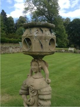 The Lennoxlove stone sundial