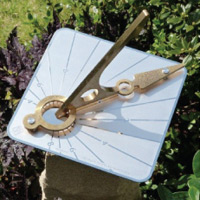 Hourdial garden sundial