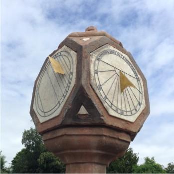 Restore a historic sundial