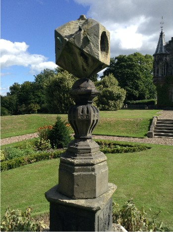 Ancient sundial of Scotland at Fettes College