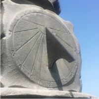 Sundial monument restoration