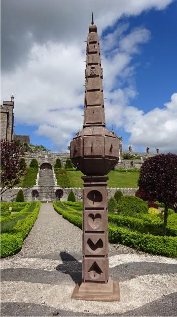 Drummond Castle Sundial Obelisk