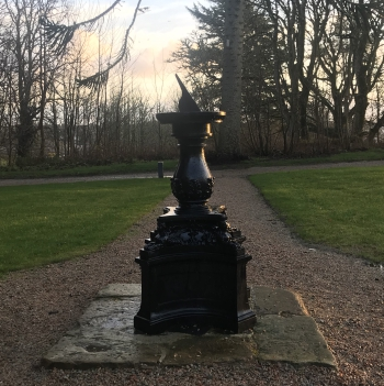 New sundial installed at Lews Castle, Stornoway