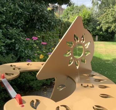 The impossible Dihelion sundial photo